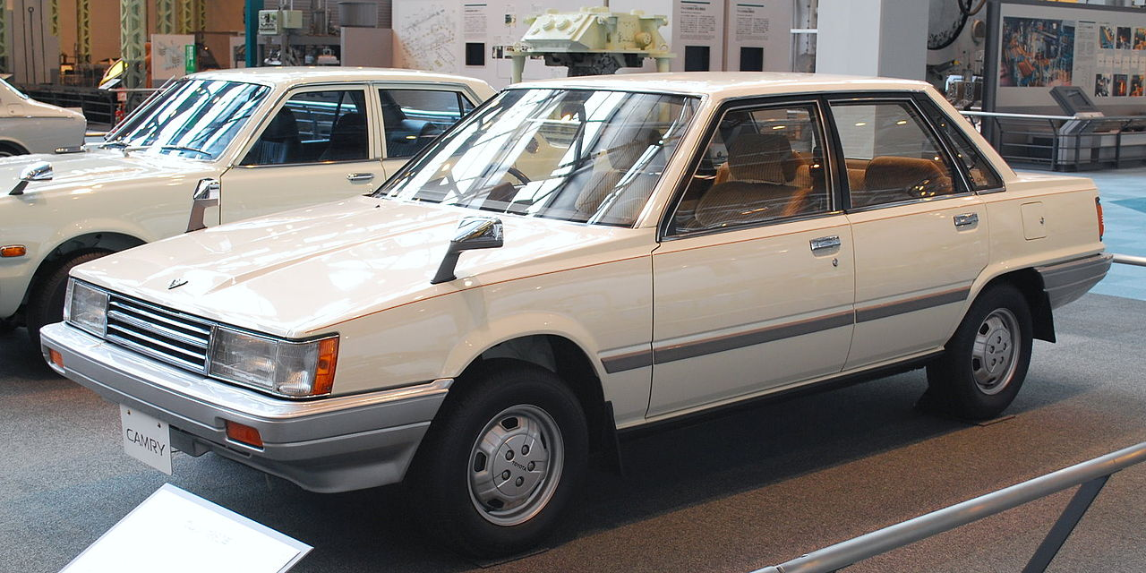 Lịch sử xe Camry - Celica Camry 1980